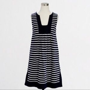 J. Crew Striped Beach Tank Dress